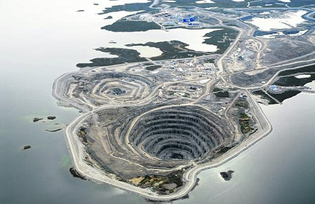 Diavik Mine in Canada