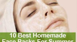 Face Packs for Summer