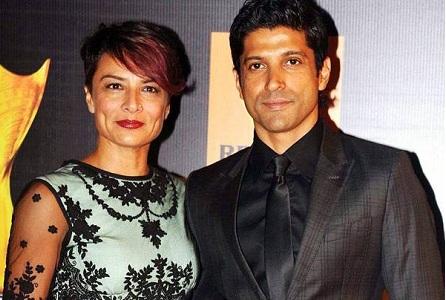 Farhan Akhtar and Adhuna Bhabani