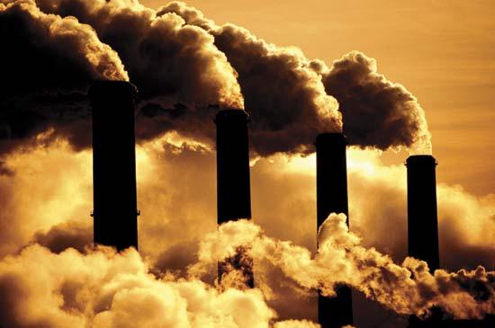 Fossil fuel burning