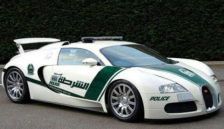 Aston Martin One-77 Dubai Police Car
