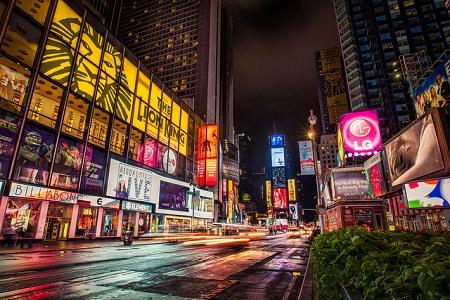 Broadway in New York City, US
