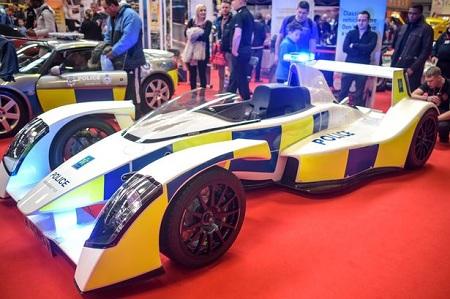 Caparo T1 UK Police Car
