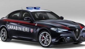 Carabinieri Italian Police Car
