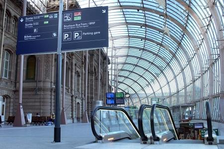 Gare De Strasbourg in France
