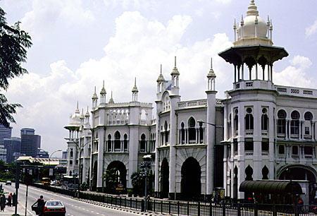 Kuala Lumpur Railway Station in Malaysia
