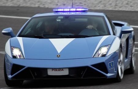 Lamborghini Huracan Italian State Police Car