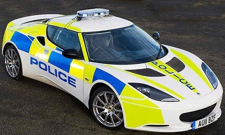 Lotus Evora S UK Police Car