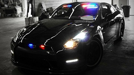 Nissan GT-R US Police Undercover Car