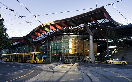 Southern Cross Station in Australia