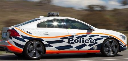 Volvo S60 Polestar Australian Police Car