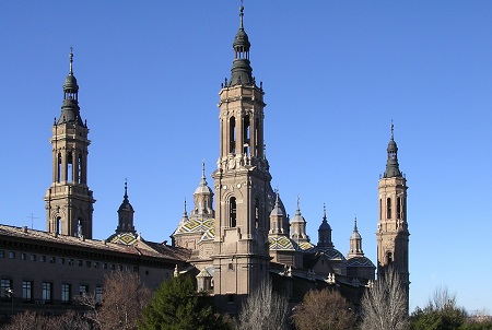 Basilica Of Our Lady Of Pillar, Aragon, Spain