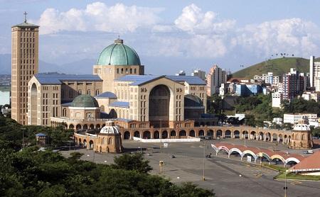 Basilica Of The National Shrine Of Our Lady Of Aparecida, Aparecida, Brazil