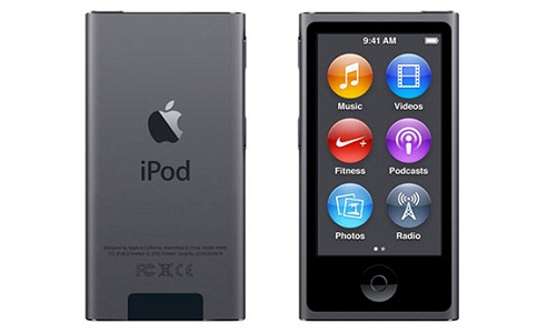 Apple MKN52HN/A 16GB 6th Generation iPod Nano (Space Grey)