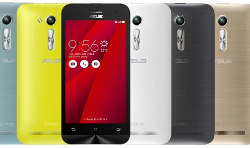 Asus Zenfone Go 4.5 2nd Gen (Gold, 8MP Camera)