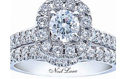 Blue Diamond Engagement Ring From Neil Lane