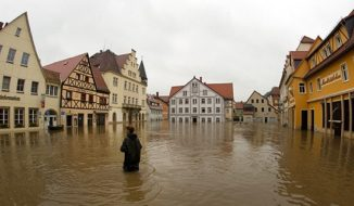 Floods in Europe and Pakistan
