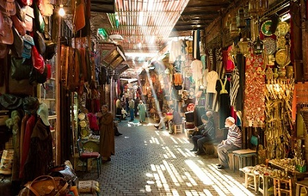 Medina of Marrakech, Morocco