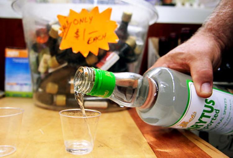 Spirytus Polish Vodka (192 Proof)