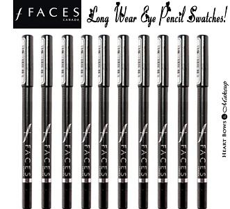 Faces Long Wear Eyeliners