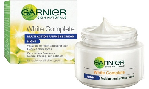 Garnier White Complete Multi Action Fairness Cream for Night