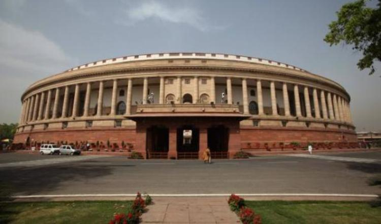 Picture of parliament house in india
