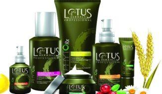 Lotus herbal cosmetic brands