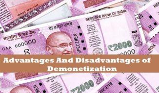 advantages-and-disadvantages-of-demonetization