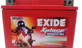 Exide Xplore Xltz4 Bike Battery