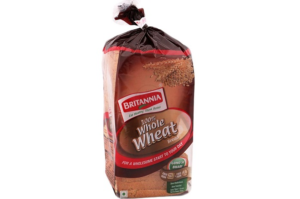 Britannia 100% whole wheat bread