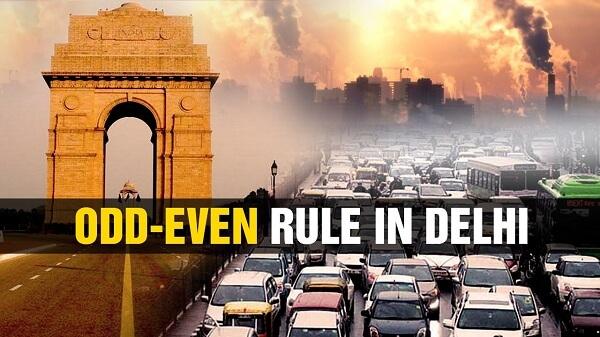 Odd-Even Traffic Rule