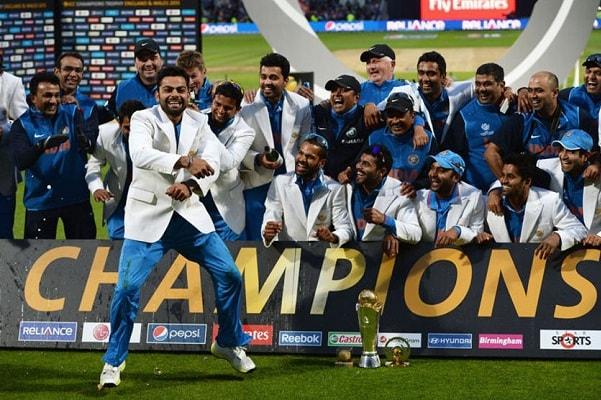 2013 in England, Final India VS England