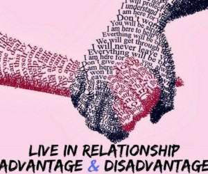 live in relationship advantage and disadvantage of online