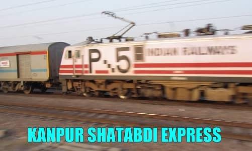 New Delhi-Kanpur Shatabdi Express