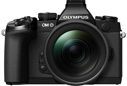 Olympus OM-D E-M1 with M.Zuiko digital camera