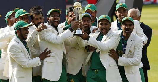 pakistan won champions trophy 2017