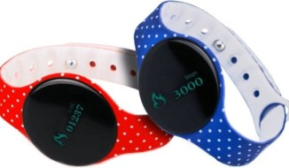 Swipe F Band Color Full Dotted Health Band
