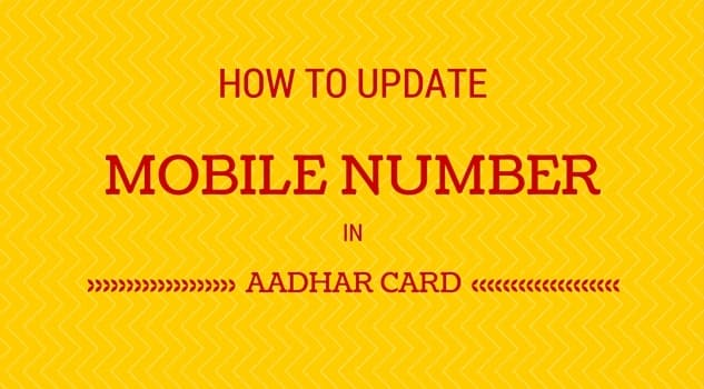 how to change phone number on aadhar card from canada