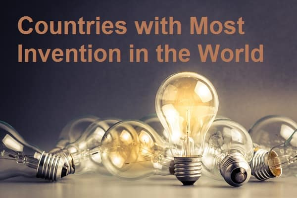 Countries with Most Inventions