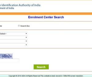 How To Locate/Find Nearest Aadhaar Enrolment Centre To You