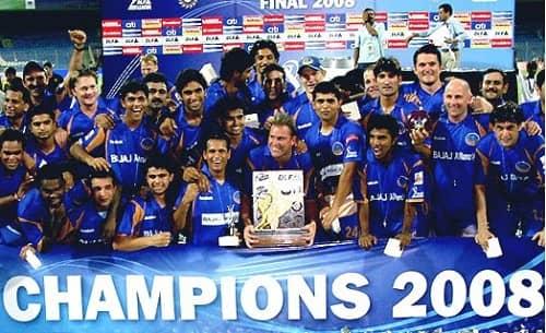 IPL 2008 Winner