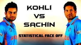 Virat Kohli vs Sachin Tendulkar