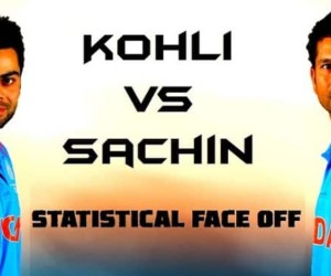Top 10 Statistics Comparison Virat Kohli vs Sachin Tendulkar