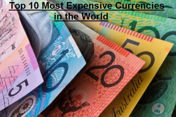 Most Expensive Currencies