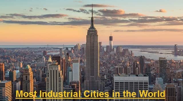 Most Industrial Cities