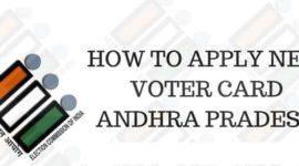 Voter ID Card Andhra Pradesh
