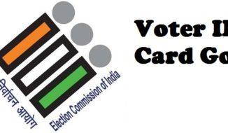 Voter ID Card Goa