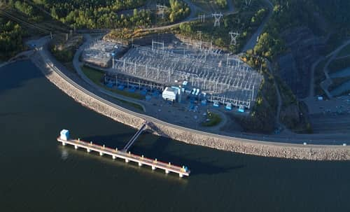 WAC Bennett Dam, Canada