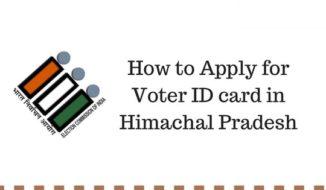 Voter ID card Himachal Pradesh