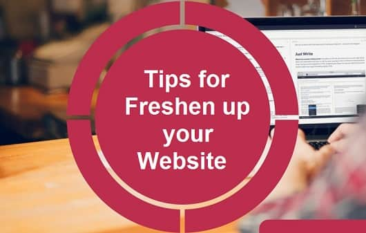 Tips To Freshen Up Your Website